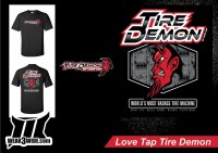 TIRE DEMON T-SHIRT by ThreeWide Clothing
